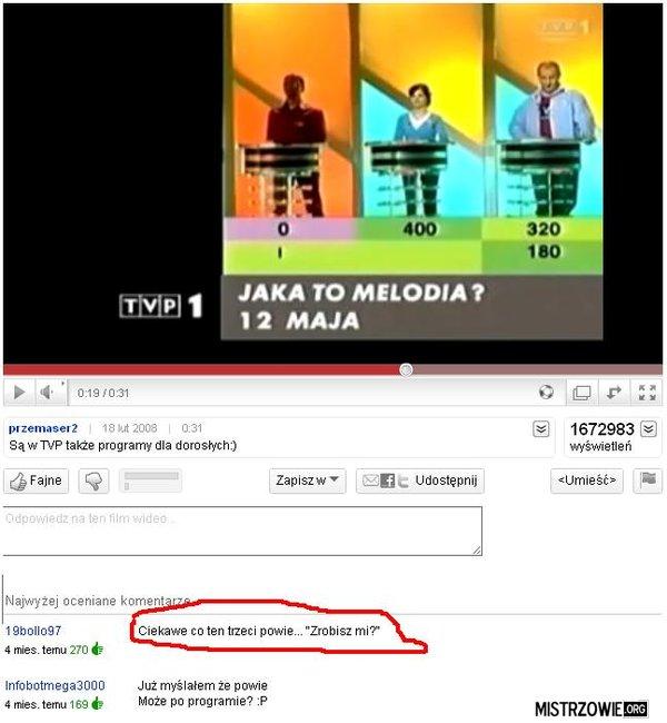 Jaka to Melodia - Przeleć mnie ? –