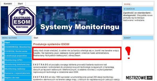 Najlepszy monitoring na rynku! –