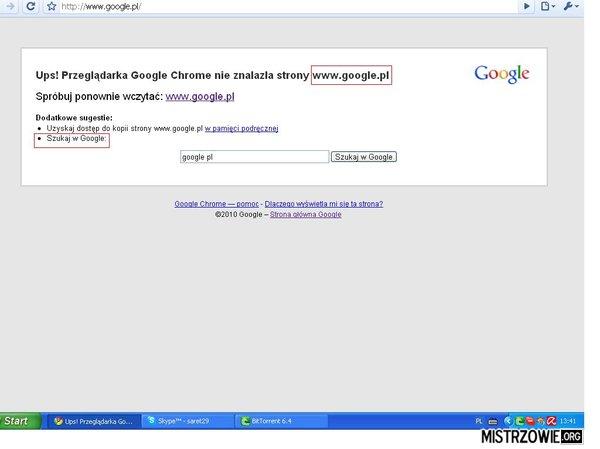 Niezastąpione Google.  –