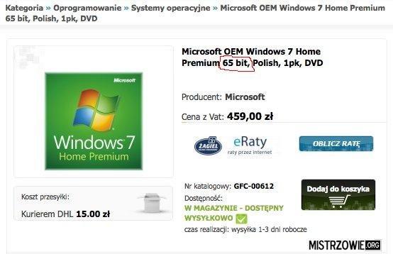 Windows 65bit... –