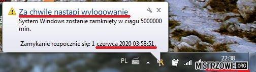 Chwila w Windowsie –