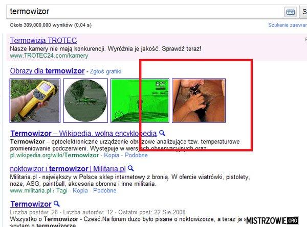 Termowizja według google –