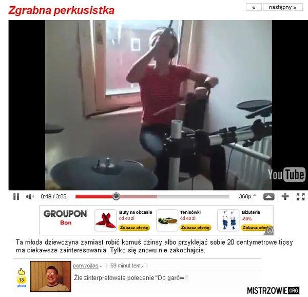 Perkusistka –