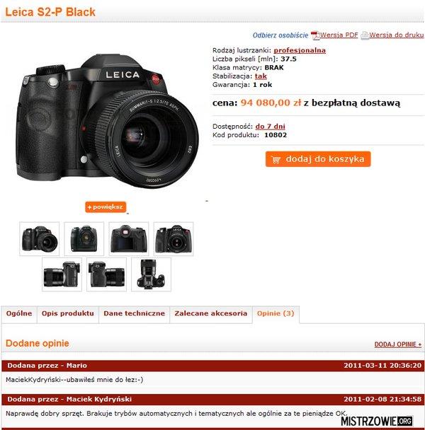Sprzęt dla fotoamatora –