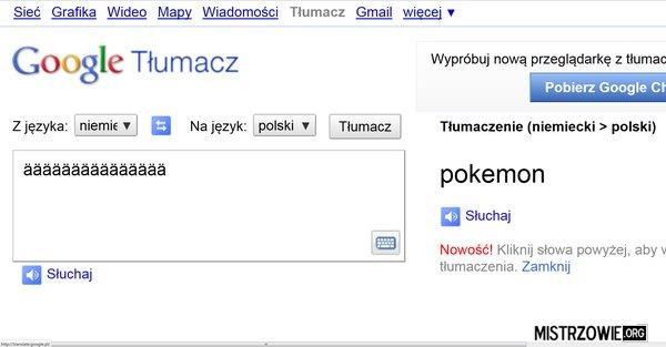 Tłumacz google.pl