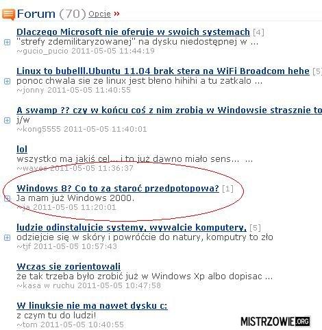 Windows 8 –