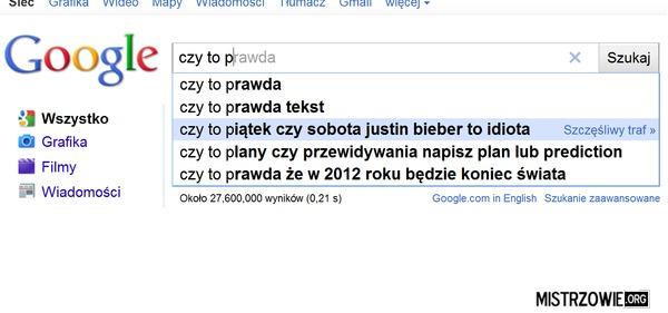 Wiersz Wujka Google