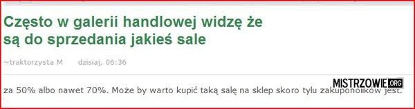 Sale na sprzedaż –