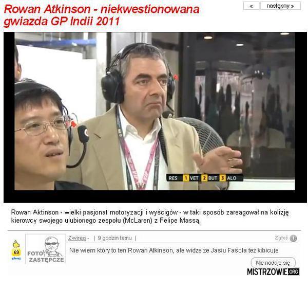Rowan Atkinson –