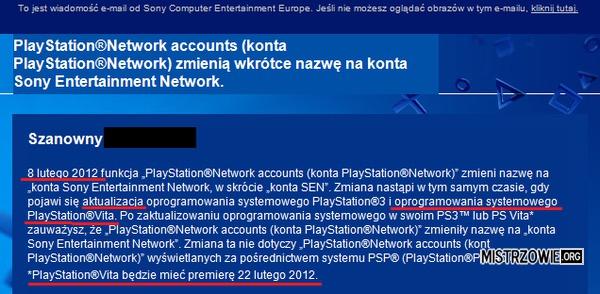 Aktualizacja przed premierą - Sony zawstydziło Microsoft –