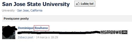 Ciekawe nazwisko na Facebooku –