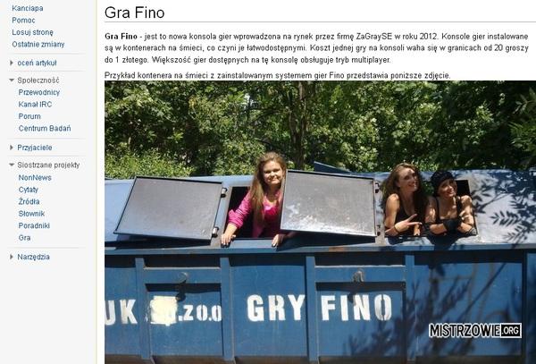 Gry Fino –