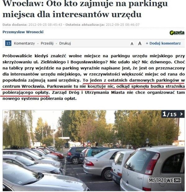 Parking –