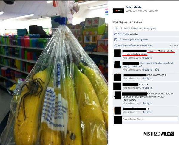 Banany Z Malezji