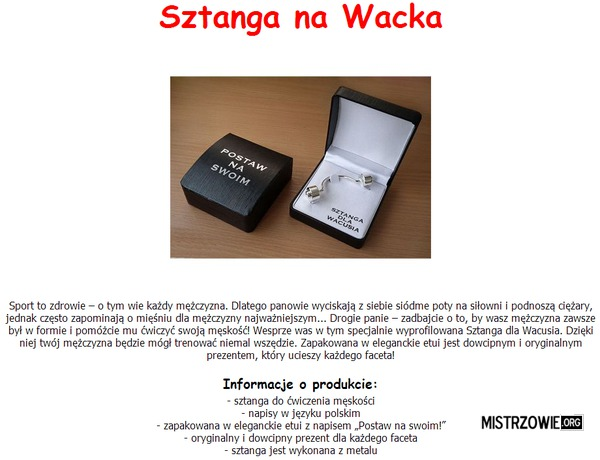 Sztanga –