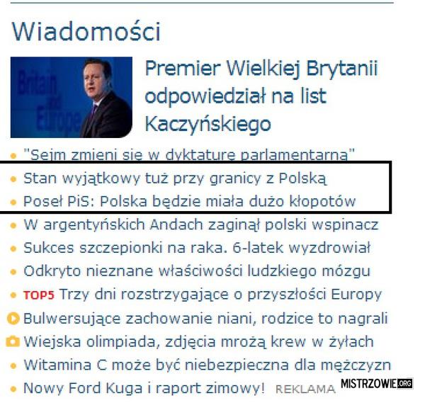 Ahh.. te polskie serwisy informacyjne ;) –