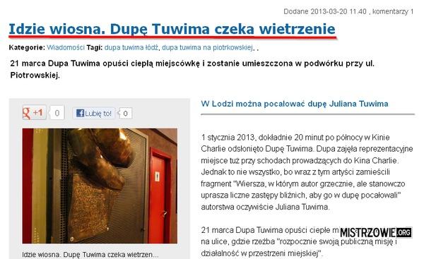 Dupa Tuwima