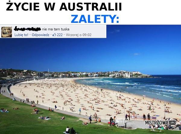 Zalety życia w Australii –
