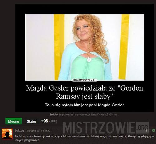Magda Gessler niczym Marilyn Monroe - Moda