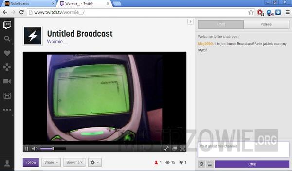 Wyjątkowy stream na Twitch.tv –