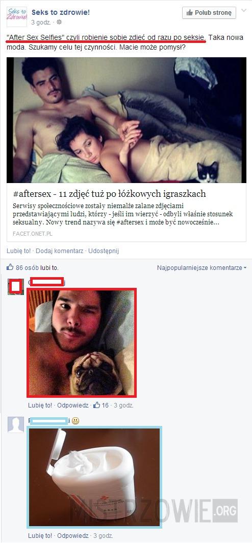 Zdjęcia po seksie –