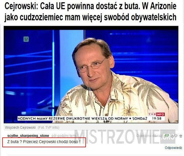 Cejrowski –