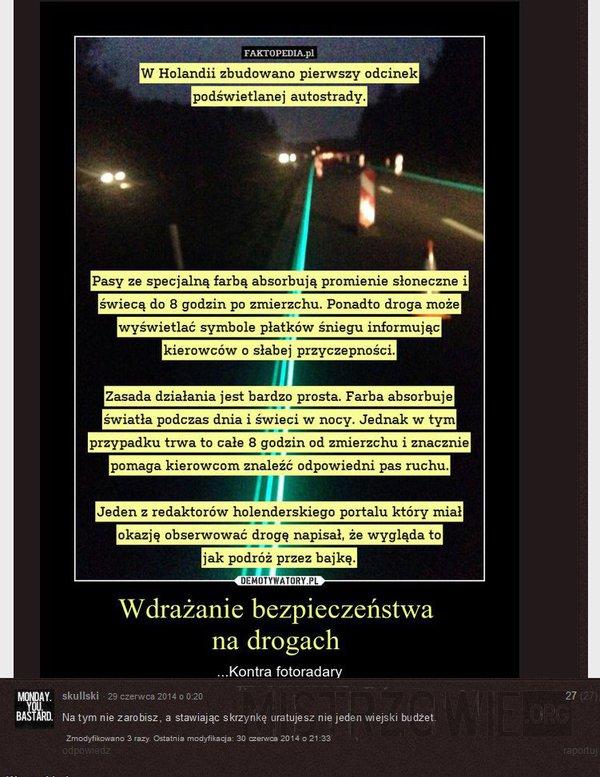 Wdrażanie bezpieczeństwa na drogach –