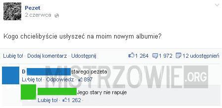 Nowy album Pezeta –