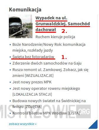 Bezpieczeństwo na drogach po wrocławsku –