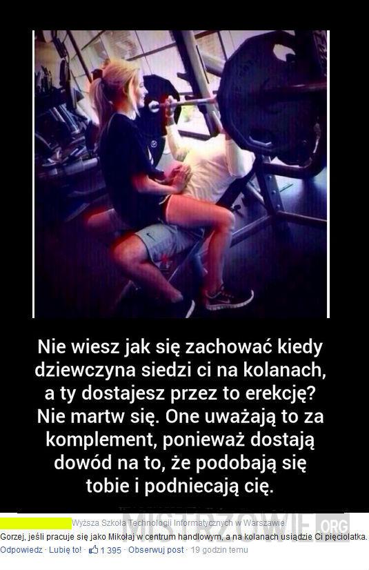 erekcja w szkole)