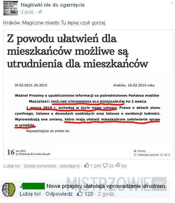 Ułatwienia po polsku –