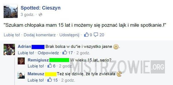 szukam chłopaka 2015 Białystok