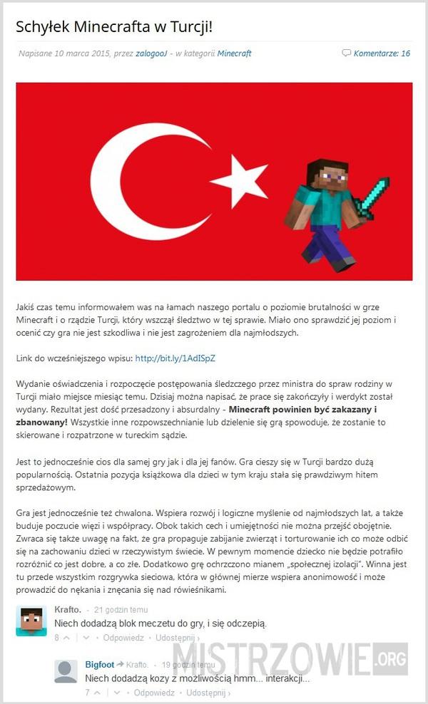41a0a58c0 Minecraft w Turcji