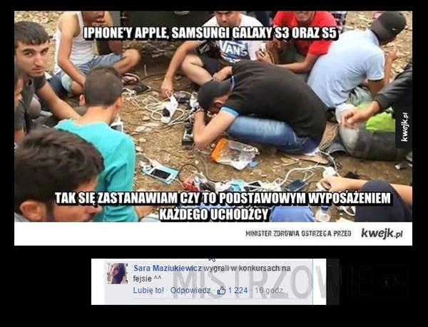 Nowoczesne te uchodźce –