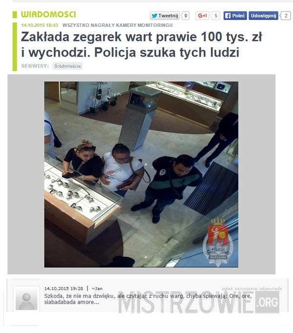 Pomóż policji –