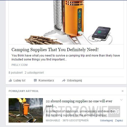 Absurdy facebooka –