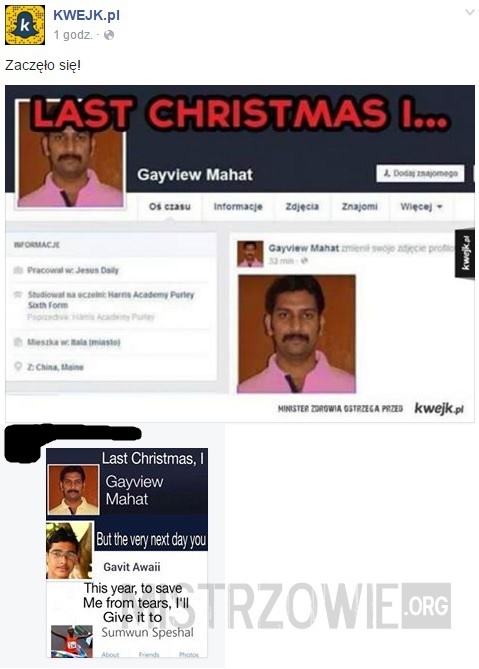 Last Christmas I Gayview Mahat.Last Christmas
