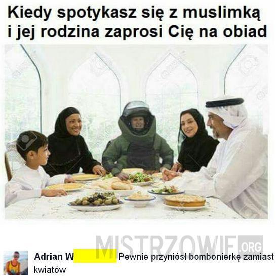 Randka z muzułmanką –