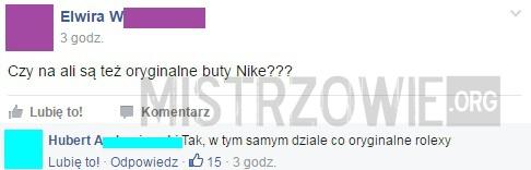 Oryginalne buty Nike –