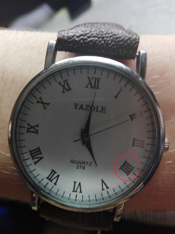 Przyszedł mi zegarek z AliExpress..... –