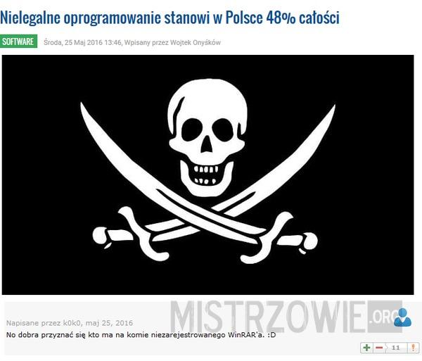 Piractwo –