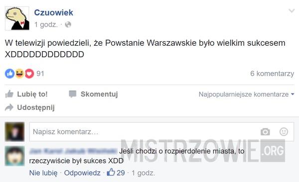Powstanie Warszawskie –