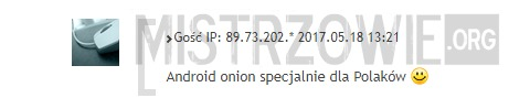 Android Onion –