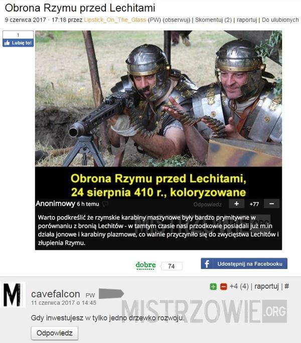 Obrona Rzymu przed Lechitami 2 –