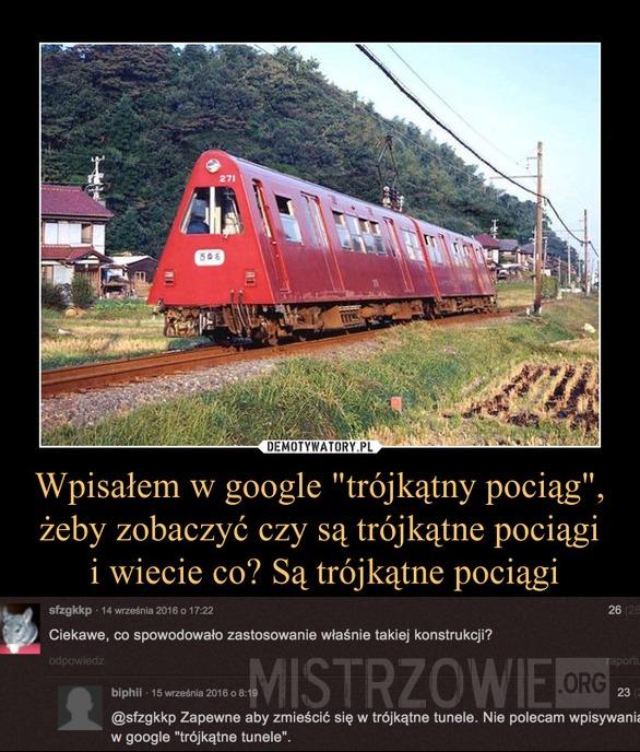 Trójkątny pociąg