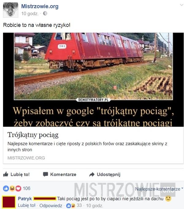Trójkątny pociąg 2