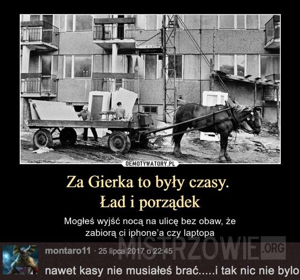 Za Gierka –