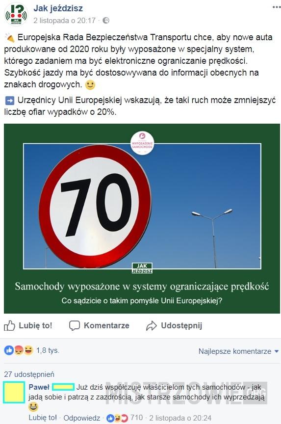 Elektroniczne ograniczanie prędkości –