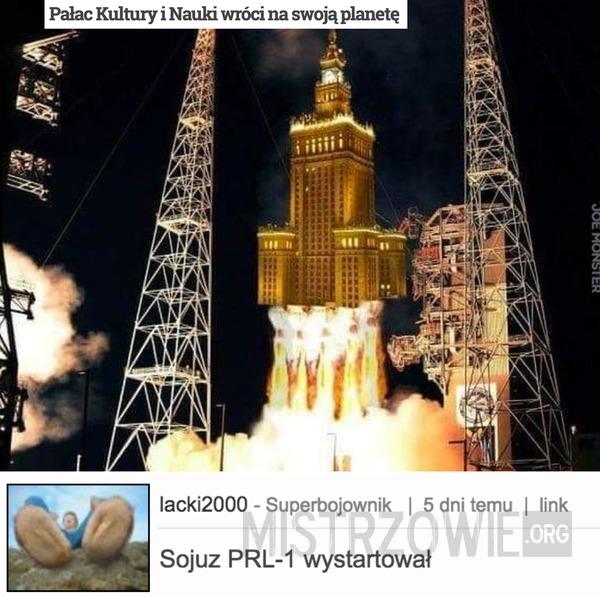 Pałac Kultury i Nauki wróci na swoją planetę –