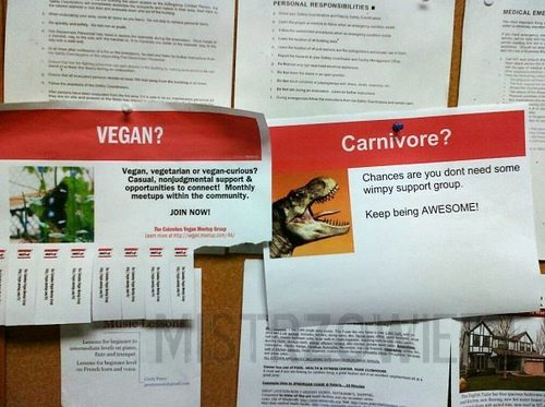 Vegan vs. Carnivore –
